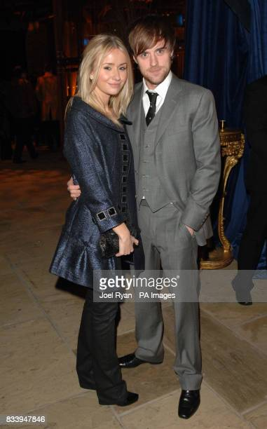 Jonas Armstrong and Sammy Winward at the Golden Compass World Premiere afterparty at the Tobacco Docks in London