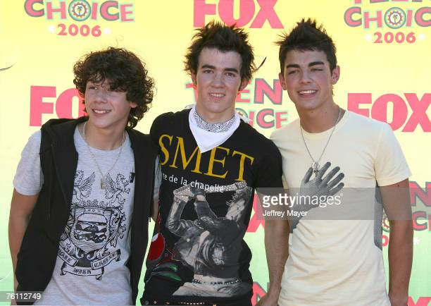 The Jonas Brothers Stock Photos And Pictures Getty Images