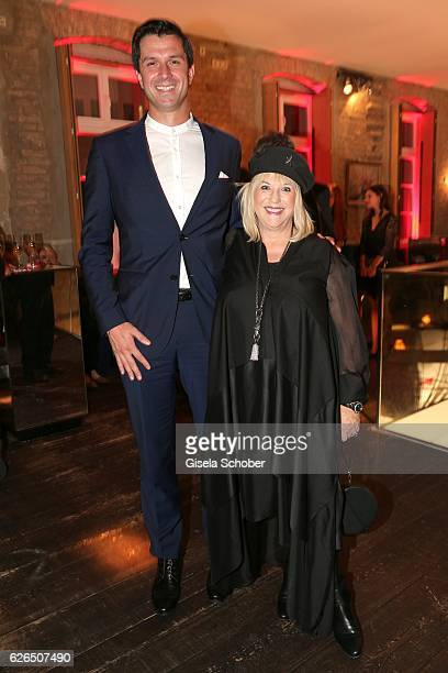 Jonas Grashey and Patricia Riekel during the New Faces Award Style 2016 at 'The Grand' on November 16 2016 in Berlin Germany