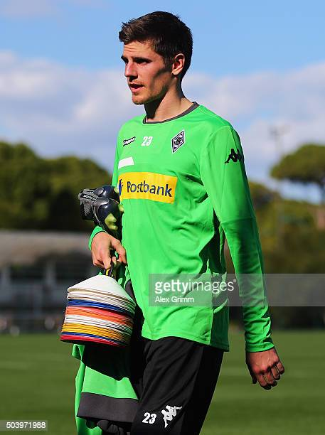 Jonas Hofmann leaves the pitch after a Borussia Moenchengladbach training session on day 3 of the Bundesliga Belek training camps at Maxx Royal Belek...