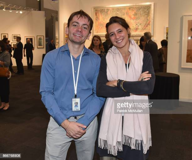 Jonas Kunz attends the IFPDA Fine Art Print Fair Opening Preview at The Jacob K Javits Convention Center on October 25 2017 in New York City