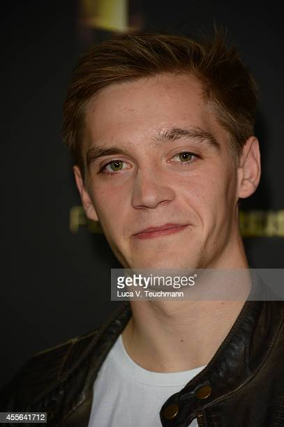 Jonas Nay attends Deutscher Fernsehpreis 2014 Nominations Announcement at Deutsche Kinemathek on September 18 2014 in Berlin Germany
