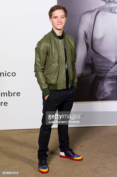 Jonas Nay attends the 'LOEWE Past Present Future' inauguration exhibition at Jardin Botanico on November 17 2016 in Madrid Spain