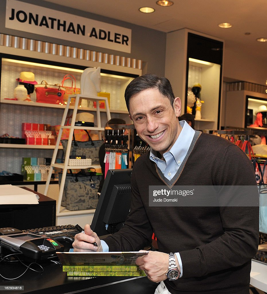 <a gi-track='captionPersonalityLinkClicked' href=/galleries/search?phrase=Jonathan+Adler&family=editorial&specificpeople=2257680 ng-click='$event.stopPropagation()'>Jonathan Adler</a> attends the <a gi-track='captionPersonalityLinkClicked' href=/galleries/search?phrase=Jonathan+Adler&family=editorial&specificpeople=2257680 ng-click='$event.stopPropagation()'>Jonathan Adler</a> Accessories Collection Launch at Bloomingdale's on March 1, 2013 in New York City.
