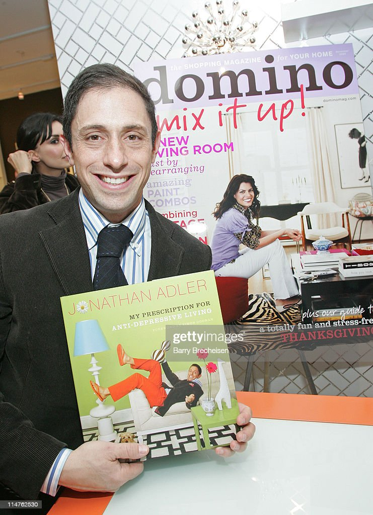 <a gi-track='captionPersonalityLinkClicked' href=/galleries/search?phrase=Jonathan+Adler&family=editorial&specificpeople=2257680 ng-click='$event.stopPropagation()'>Jonathan Adler</a> during Domino Magazine Party at the New <a gi-track='captionPersonalityLinkClicked' href=/galleries/search?phrase=Jonathan+Adler&family=editorial&specificpeople=2257680 ng-click='$event.stopPropagation()'>Jonathan Adler</a> Store in Chicago in Chicago, Illinois, United States.
