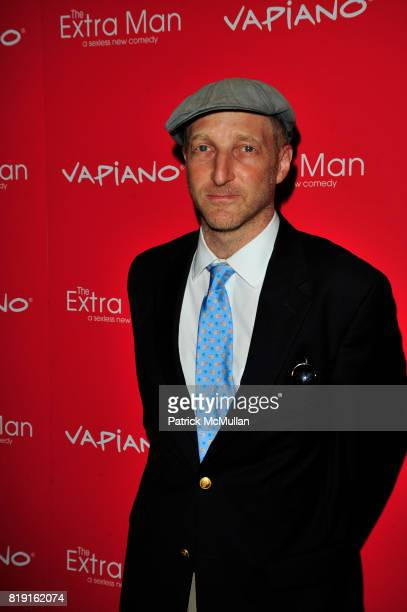 Jonathan Ames attends Vapiano hosts the New York Premiere of THE EXTRA MAN red carpet arrivals and afterparty at Village East Cinema and Vapiano NYC...