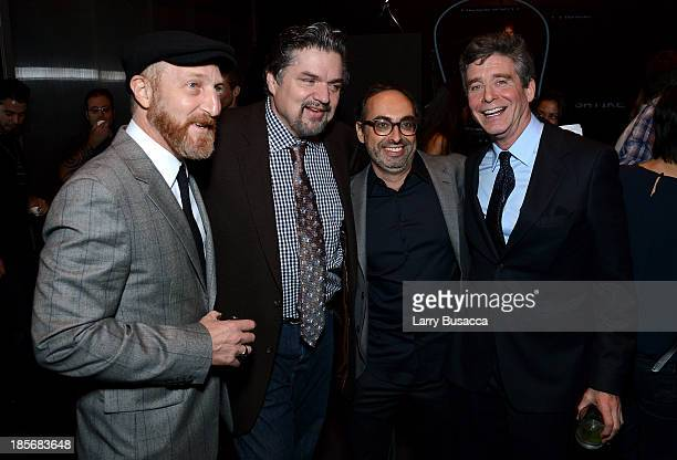 Jonathan Ames Oliver Platt Gary Shteyngart and Jay McInerney attend PRADA Journal A Literary Contest In Collaboration With Feltrinelli Editore at the...