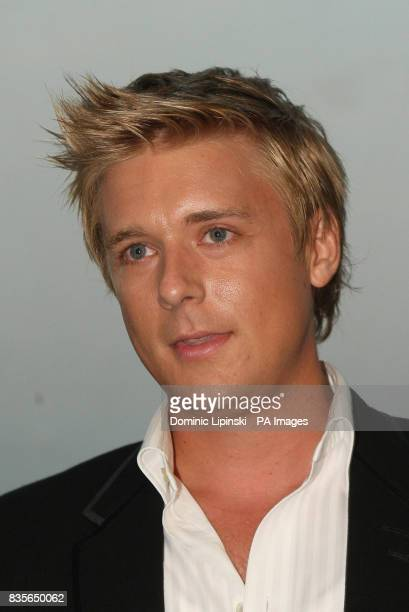 Jonathan Ansell at the Richard BalfourLynn's AHG AND MWB Group and Variety Club Children's Charity Party held at the top of the Swiss Re building...