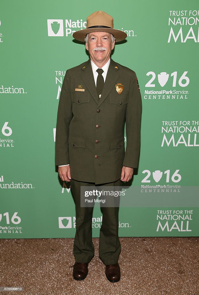Jonathan B. Jarvis, Director, National Park Service, attends the Trust for the National Mall's Ninth Annual Benefit Luncheon in West Potomac Park on April 28, 2016 in Washington, DC.