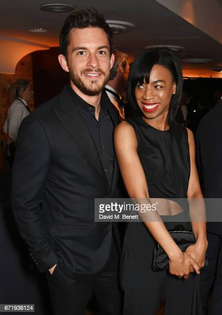 Jonathan Bailey and Pippa BennettWarner attend the British Academy Television Craft Awards at The Brewery on April 23 2017 in London United Kingdom
