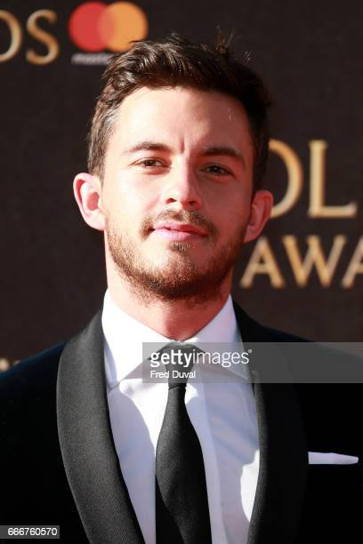 Jonathan Bailey attends The Olivier Awards 2017 at Royal Albert Hall on April 9 2017 in London England