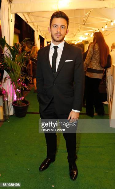 Jonathan Bailey attends the opening of the new Labassa Woolfe antiques and tailoring boutique store on April 5 2017 in London England