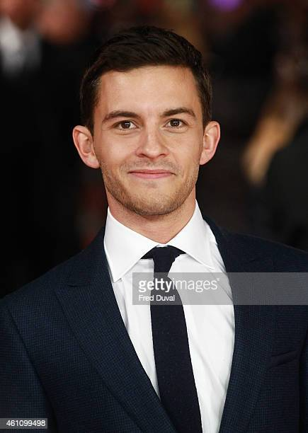 Jonathan Bailey attends the UK premiere of 'Testament of Youth' at the Empire Leicester Square on January 5 2015 in London United Kingdom