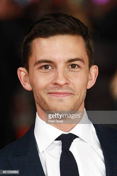 Jonathan Bailey attends the UK Premiere of'Testament of Youth' at the Empire Leicester Square on January 5 2015 in London United Kingdom