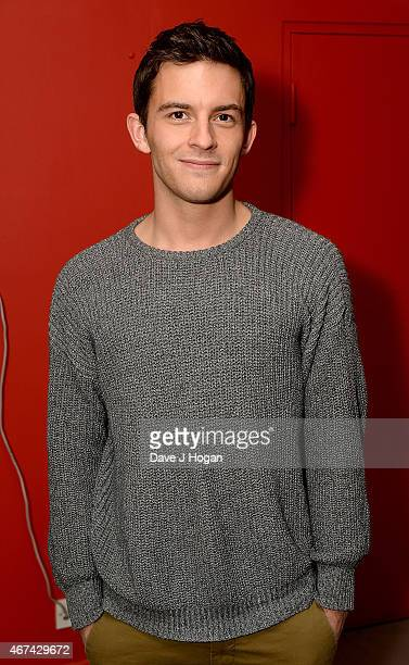 Jonathan Bailey attends the VIP night for the Northern Ballets rendition of 'The Great Gatsby' at Sadlers Wells Theatre on March 24 2015 in London...