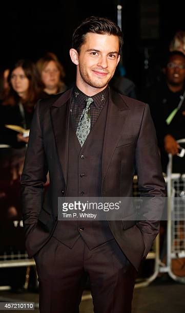 Jonathan Bailey attends the World Premiere Centrepiece Gala supported by the Mayor of London red carpet arrivals for 'Testament Of Youth' during the...