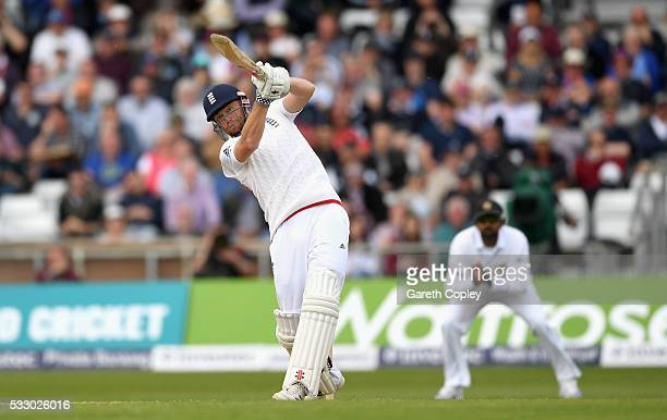 Jonathan Bairstow of England bats during day two of the 1st Investec Test match at Headingley on May 20 2016 in Leeds England