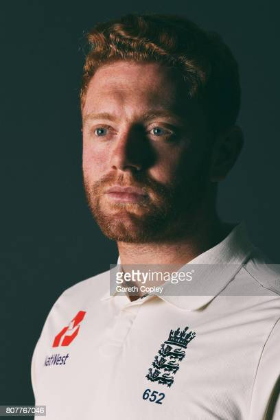 Jonathan Bairstow of England poses for a portrait at Lord's Cricket Ground on July 4 2017 in London England