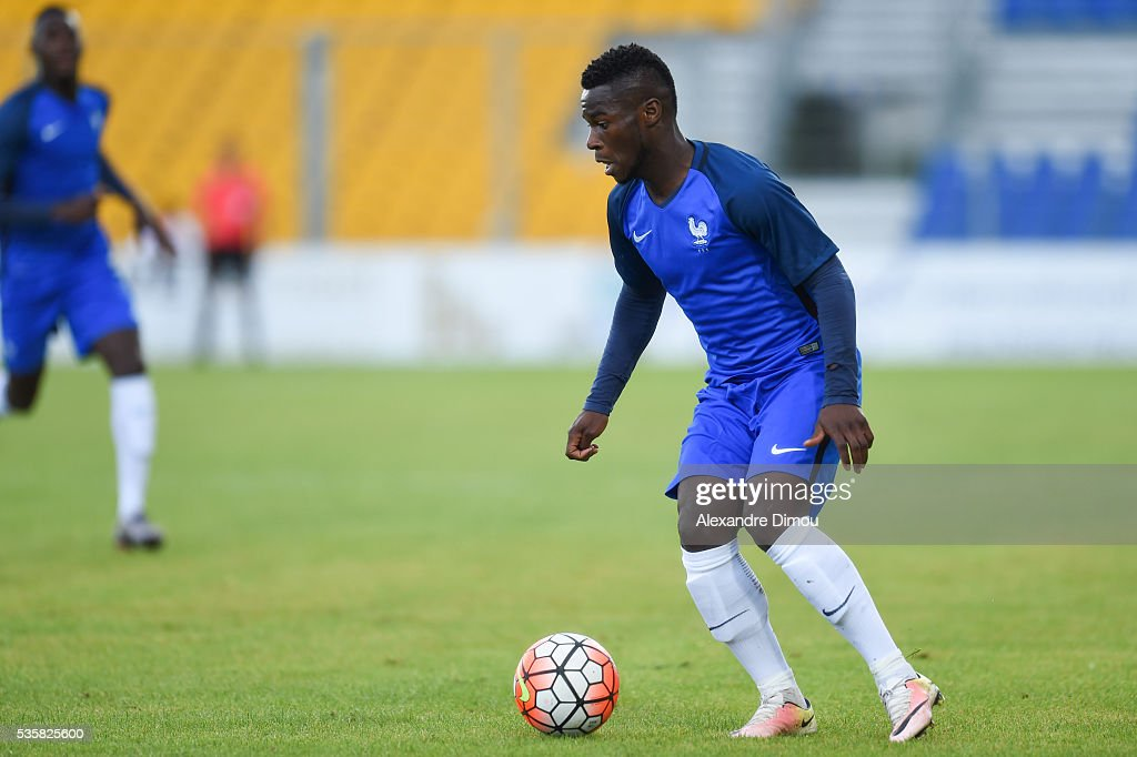 Jonathan Bamba of France during the International Football Festival tournament of Toulon Final match between France U20 and England U20 on May 29...