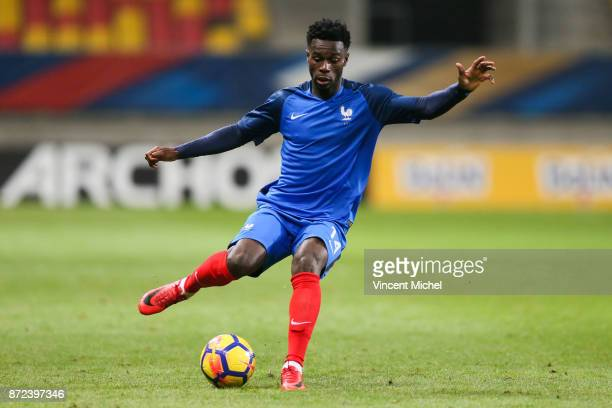 Jonathan Bamba of France during the Under 21s Euro 2019 qualifying match between France U21 and Bulgaria U21 on November 9 2017 in Le Mans France