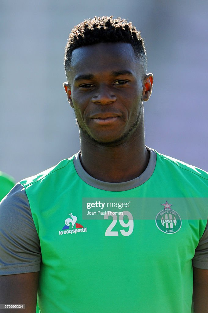 Jonathan BAMBA of Saint Etienne during the pre season friendly match between Lausanne Sport and As Saint Etienne on July 16 2016 in Lausanne...