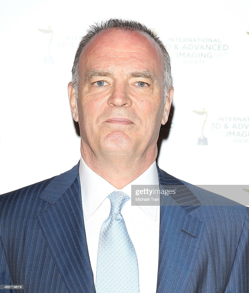 Jonathan Barker arrives at the 2014 International 3D and Advanced Imaging Society's Creative Arts Awards held at Steven J. Ross Theatre on January 28, 2014 in Burbank, California.