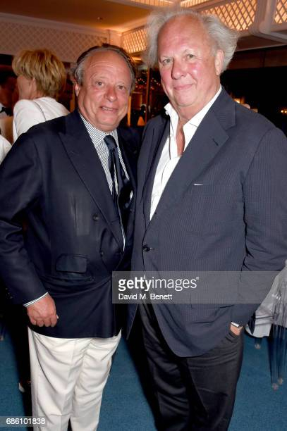 Jonathan Becker and Graydon Carter attend the Vanity Fair and HBO Dinner celebrating the Cannes Film Festival at Hotel du CapEdenRoc on May 20 2017...
