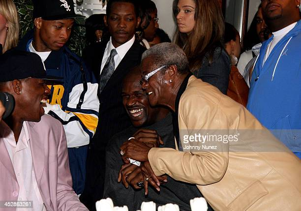 Jonathan Bender Shaquille O'Neal and George Daniels