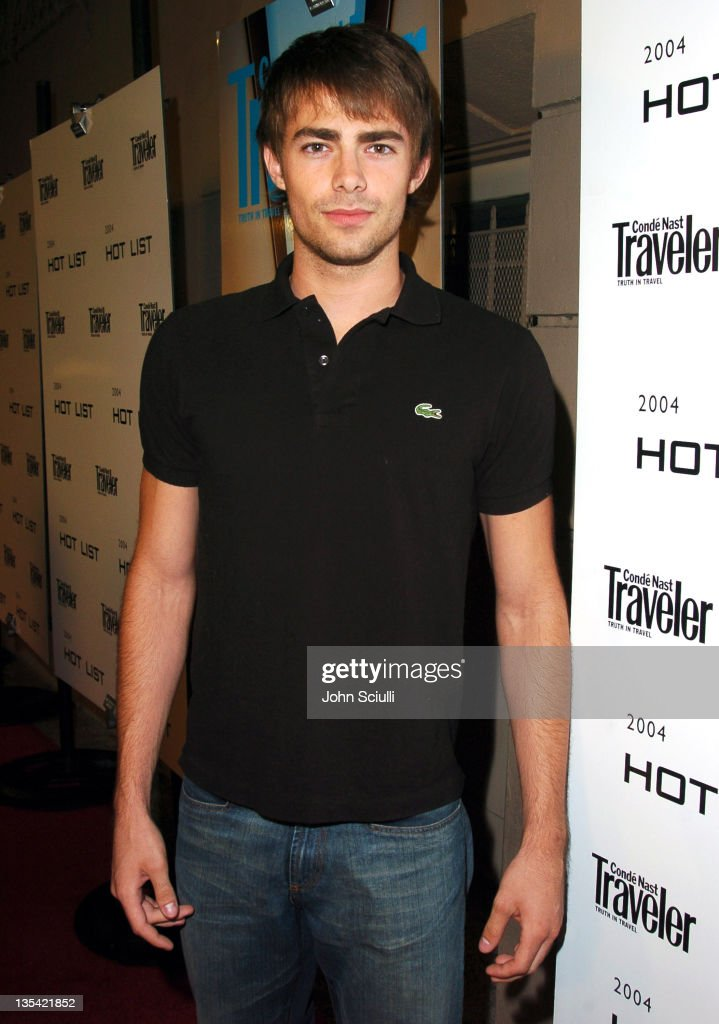 Jonathan Bennett during Conde Nast Traveler Hot Nights Los Angeles - Red Carpet at Spider Club in Hollywood, California, United States.