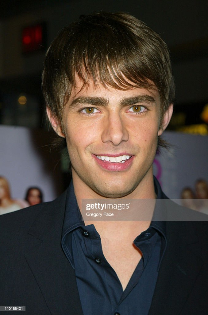 <a gi-track='captionPersonalityLinkClicked' href=/galleries/search?phrase=Jonathan+Bennett&family=editorial&specificpeople=233425 ng-click='$event.stopPropagation()'>Jonathan Bennett</a> during 'Mean Girls' New York Premiere - Inside Arrivals at Loews Lincoln Square Theatre in New York City, New York, United States.