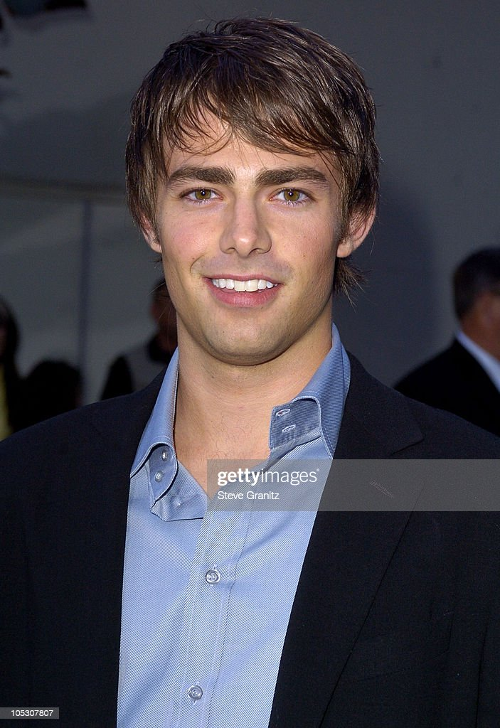 <a gi-track='captionPersonalityLinkClicked' href=/galleries/search?phrase=Jonathan+Bennett&family=editorial&specificpeople=233425 ng-click='$event.stopPropagation()'>Jonathan Bennett</a> during 'Mean Girls' World Premiere - Arrivals at Cinerama Dome in Hollywood, California, United States.