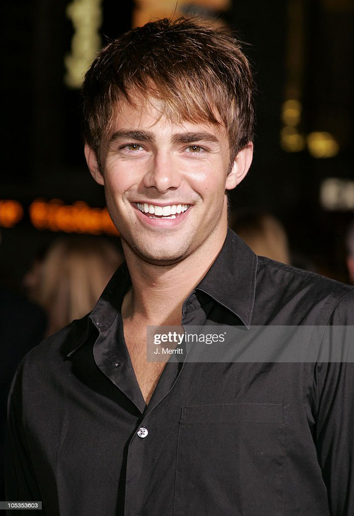 <a gi-track='captionPersonalityLinkClicked' href=/galleries/search?phrase=Jonathan+Bennett&family=editorial&specificpeople=233425 ng-click='$event.stopPropagation()'>Jonathan Bennett</a> during 'Sky Captain And The World Of Tomorrow' Los Angeles Premiere at Grauman's Chinese Theatre in Hollywood, California, United States.