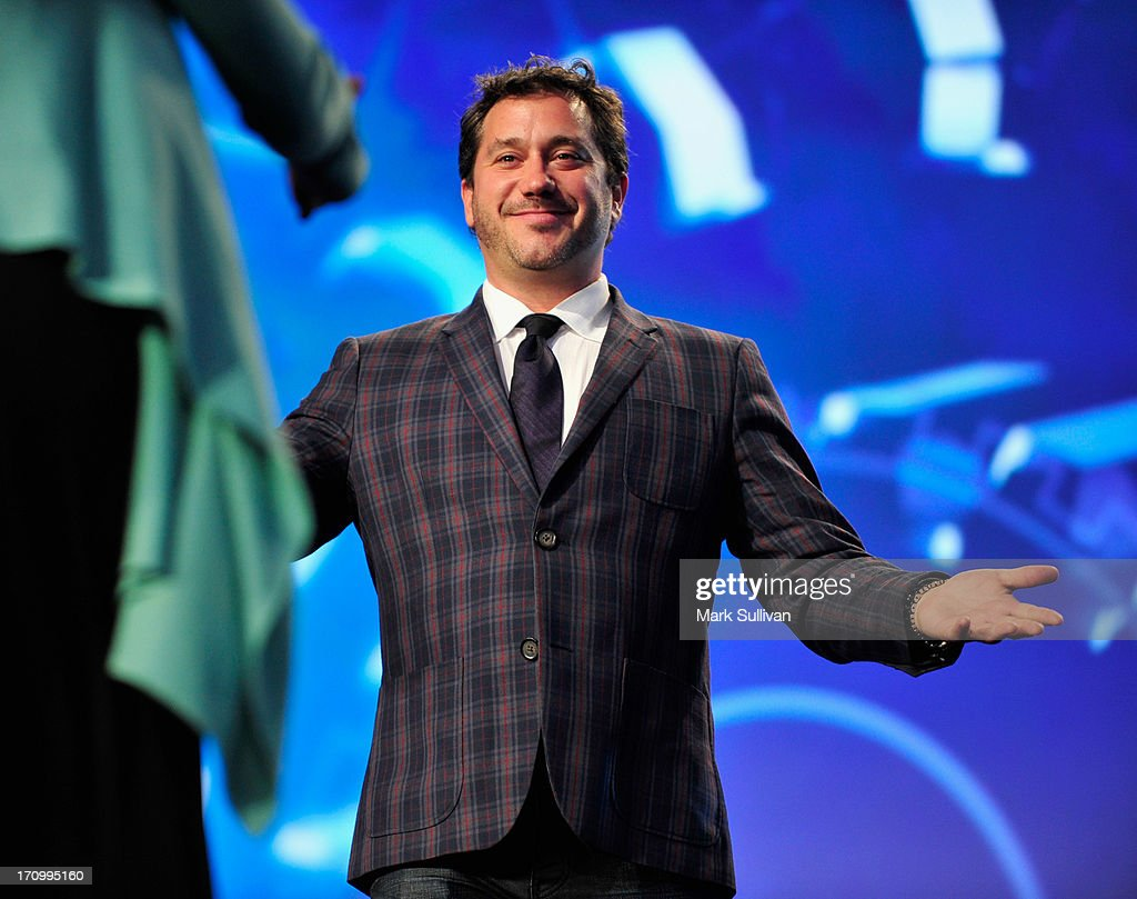 Jonathan Block-Verk, President and CEO of PromaxBDA Global International onstage during the PromaxBDA Promotion, Marketing And Design Awards Show at JW Marriott Los Angeles at L.A. LIVE on June 20, 2013 in Los Angeles, California.