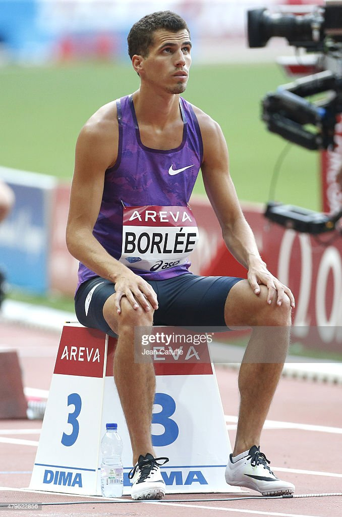 <a gi-track='captionPersonalityLinkClicked' href=/galleries/search?phrase=Jonathan+Borlee&family=editorial&specificpeople=2236169 ng-click='$event.stopPropagation()'>Jonathan Borlee</a> of Belgium competes in the men's 400m during the Meeting AREVA of the IAAF Diamond League 2015, held at Stade de France on July 4, 2015 in Saint-Denis nearby Paris, France.