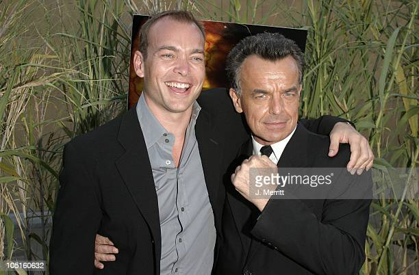 Jonathan Breck and Ray Wise during 'Jeepers Creepers 2' Hollywood Premiere at The Egyptian Theatre in Hollywood California United States