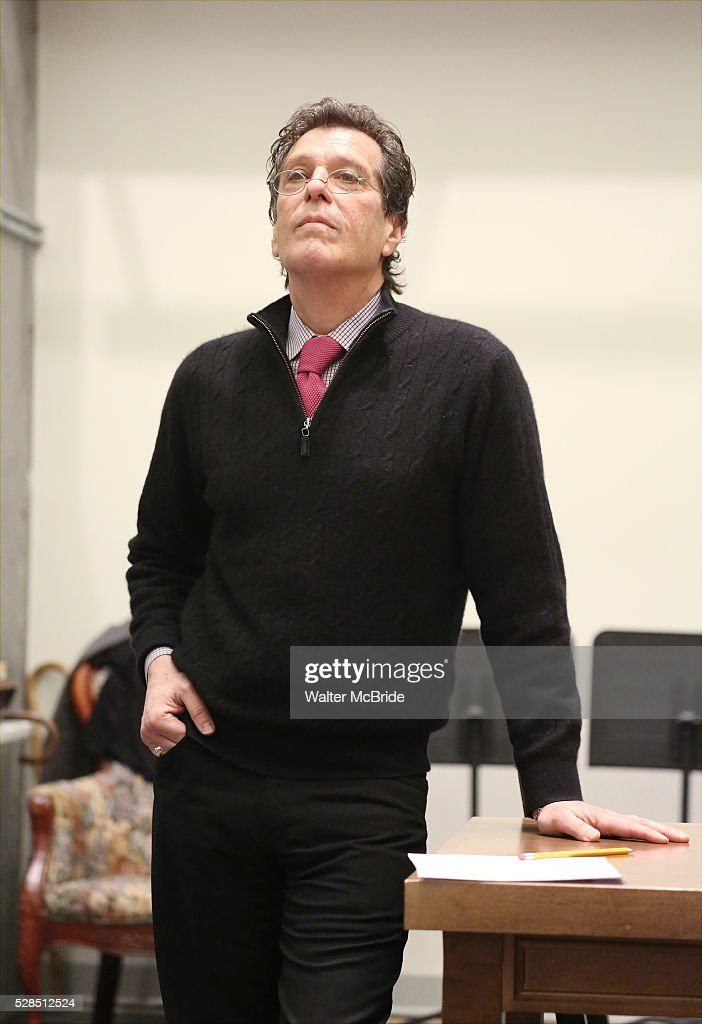 Jonathan Brielle during the 'Himself and Nora The Musical' - Press Preview at the Signature Theatre Rehearsal Studios on May 5, 2016 in New York City.