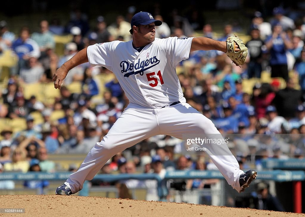 <a gi-track='captionPersonalityLinkClicked' href=/galleries/search?phrase=Jonathan+Broxton&family=editorial&specificpeople=551385 ng-click='$event.stopPropagation()'>Jonathan Broxton</a> #51 of the Los Angeles Dodgers pitches against the Colorado Rockies at Dodger Stadium on May 9, 2010 in Los Angeles, California.