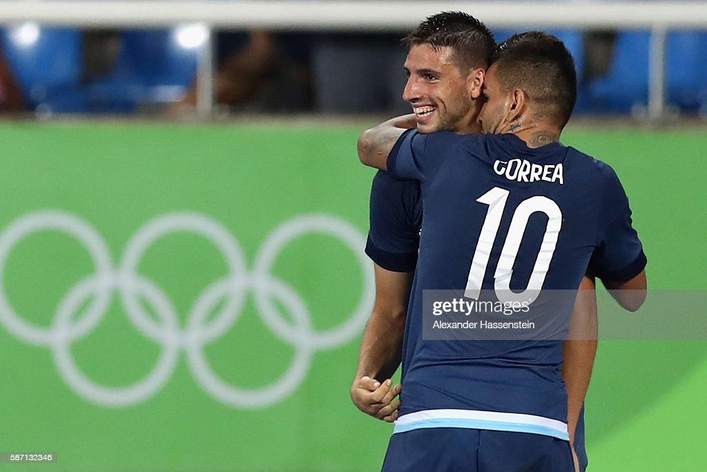 Argentina v Algeria: Men's Football - Olympics: Day 2