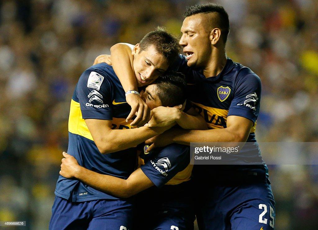 Boca Juniors v Palestino - Copa Bridgestone Libertadores 2015