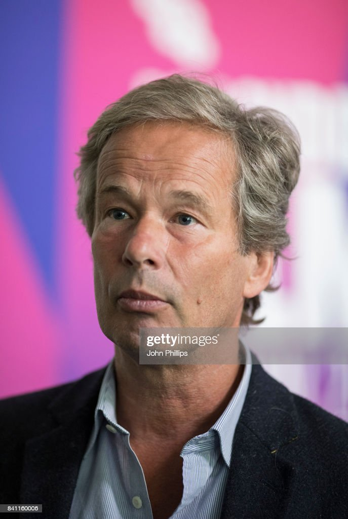 Jonathan Cavendish attends the BFI London Film Festival programme launch at Odeon Leicester Square on August 31, 2017 in London, England.