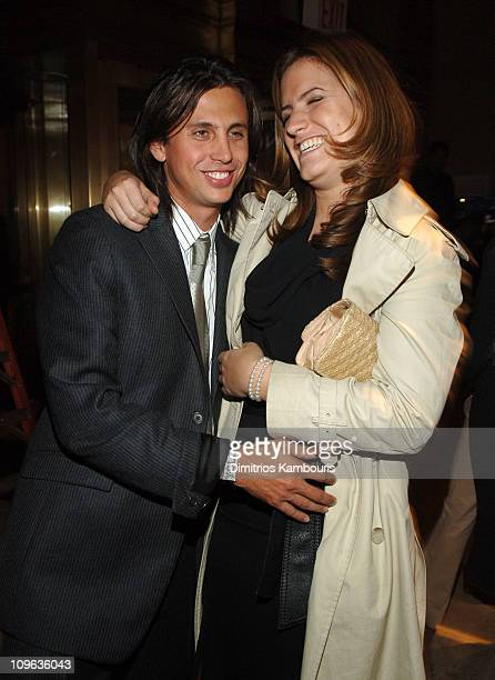 Jonathan Cheban and Elisa LipskyKarasz during The 2005 Wall Street Concert Series Benefiting Wall Street Rising Sponsored by de Grisogono and...
