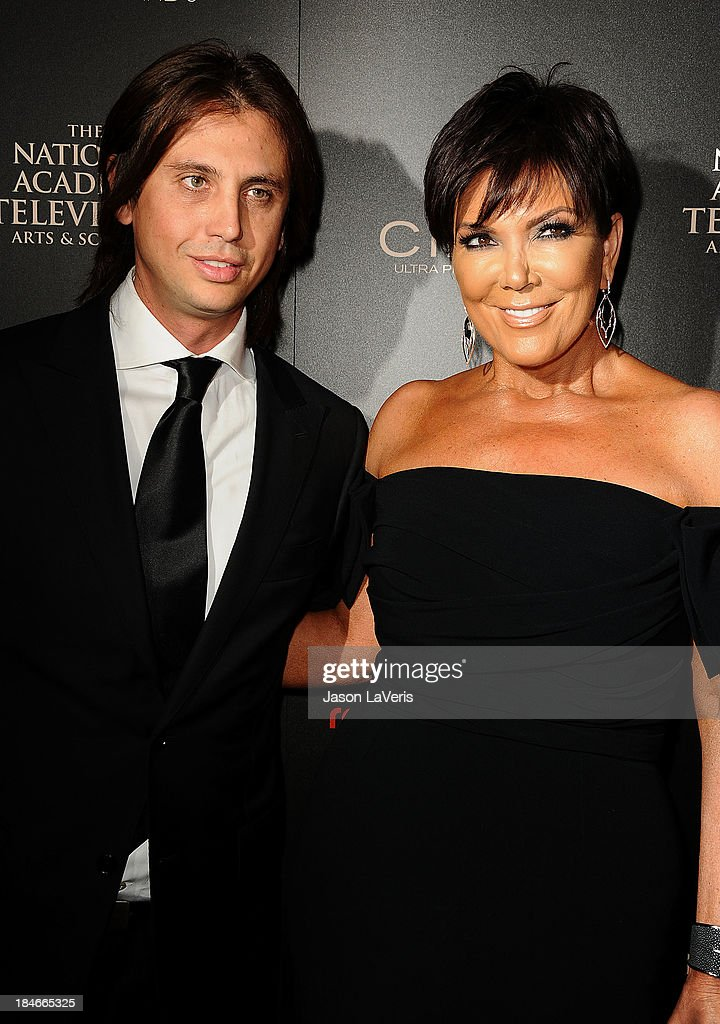 Jonathan Cheban and Kris Jenner attend the 40th annual Daytime Emmy Awards at The Beverly Hilton Hotel on June 16, 2013 in Beverly Hills, California.