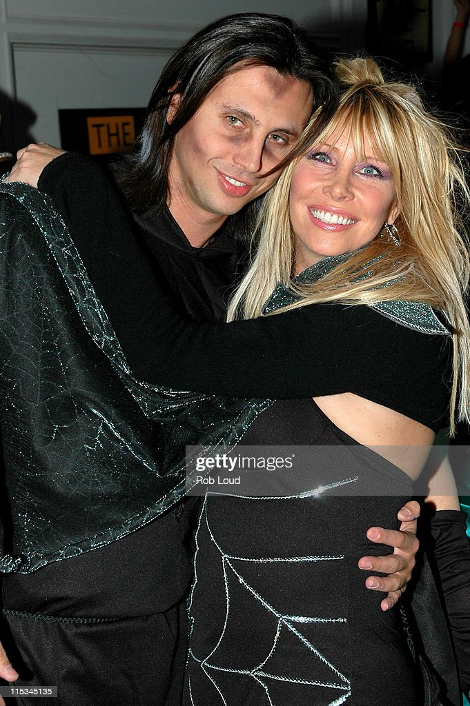Jonathan Cheban and Lisa Gastineau during Joonbug's 4th Annual Halloween Masquerade Ball Hosted by the Gastineau Girls at Capitale in New York City...