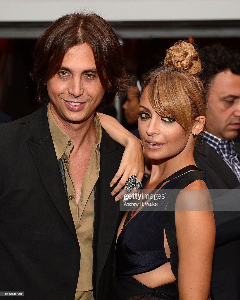 Jonathan Cheban and Nicole Richie attend the 9th annual Style Awards during Mercedes-Benz Fashion Week at The Stage Lincoln Center on September 5, 2012 in New York City.