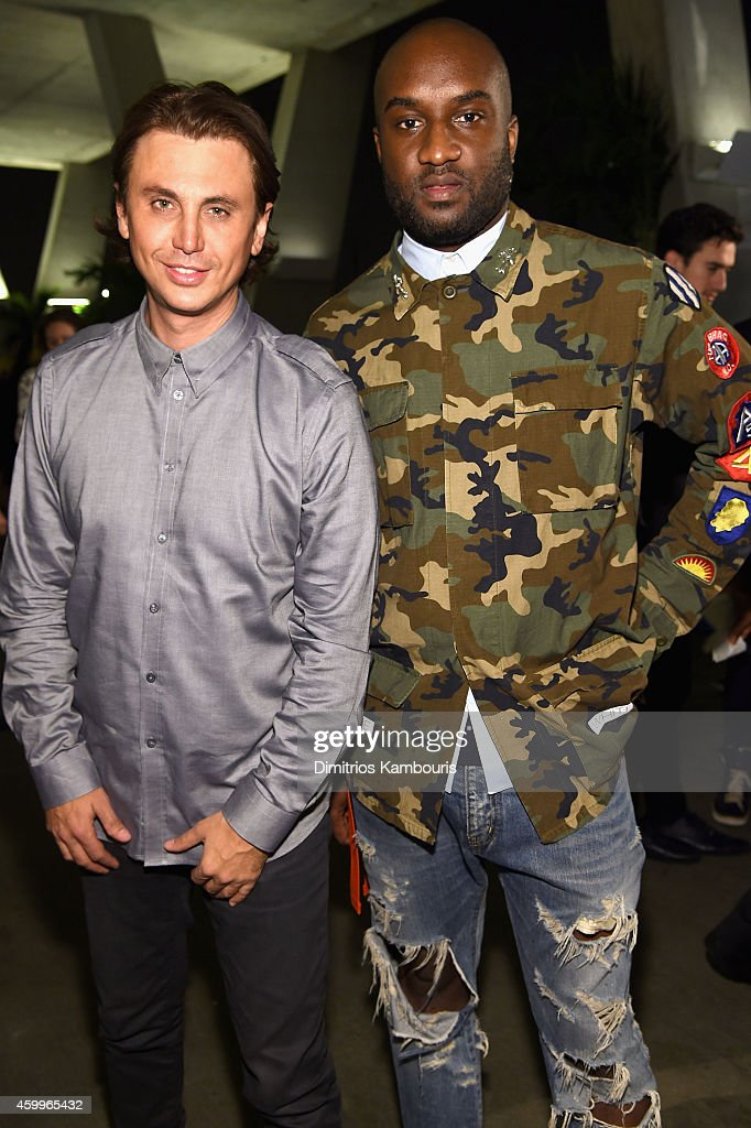 <a gi-track='captionPersonalityLinkClicked' href=/galleries/search?phrase=Jonathan+Cheban&family=editorial&specificpeople=538047 ng-click='$event.stopPropagation()'>Jonathan Cheban</a> and <a gi-track='captionPersonalityLinkClicked' href=/galleries/search?phrase=Virgil&family=editorial&specificpeople=78328 ng-click='$event.stopPropagation()'>Virgil</a> Abloh attend Paper Magazine, Sprout By HP & DKNY Break The Internet Issue Release at 1111 Lincoln Road on December 4, 2014 in Miami, Florida.