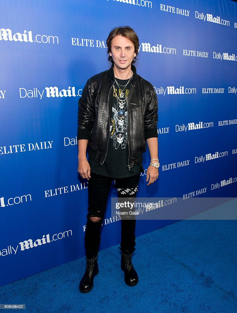 Jonathan Cheban attends the DailyMail.com and Elite Daily holiday party at Vandal on December 7, 2016 in New York City.