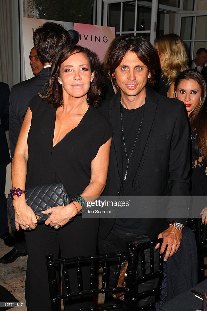 Jonathan Cheban (R) attends the Haute Living and Roger Dubuis dinner hosted by Daphne Guinness at Azur on December 5, 2012 in Miami Beach, Florida.