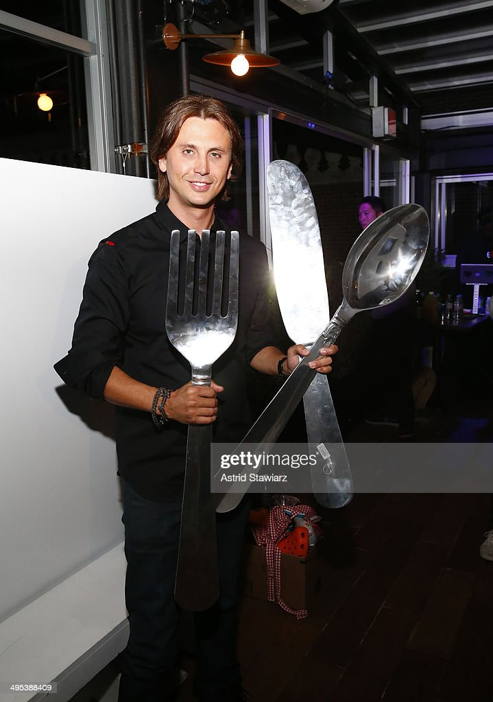 Jonathan Cheban attends The Launch Of EAT (RED). DRINK (RED). SAVE LIVES at Eataly Birreria on June 2, 2014 in New York City. (Photo by Astrid Stawiarz/Getty Images for (Red))