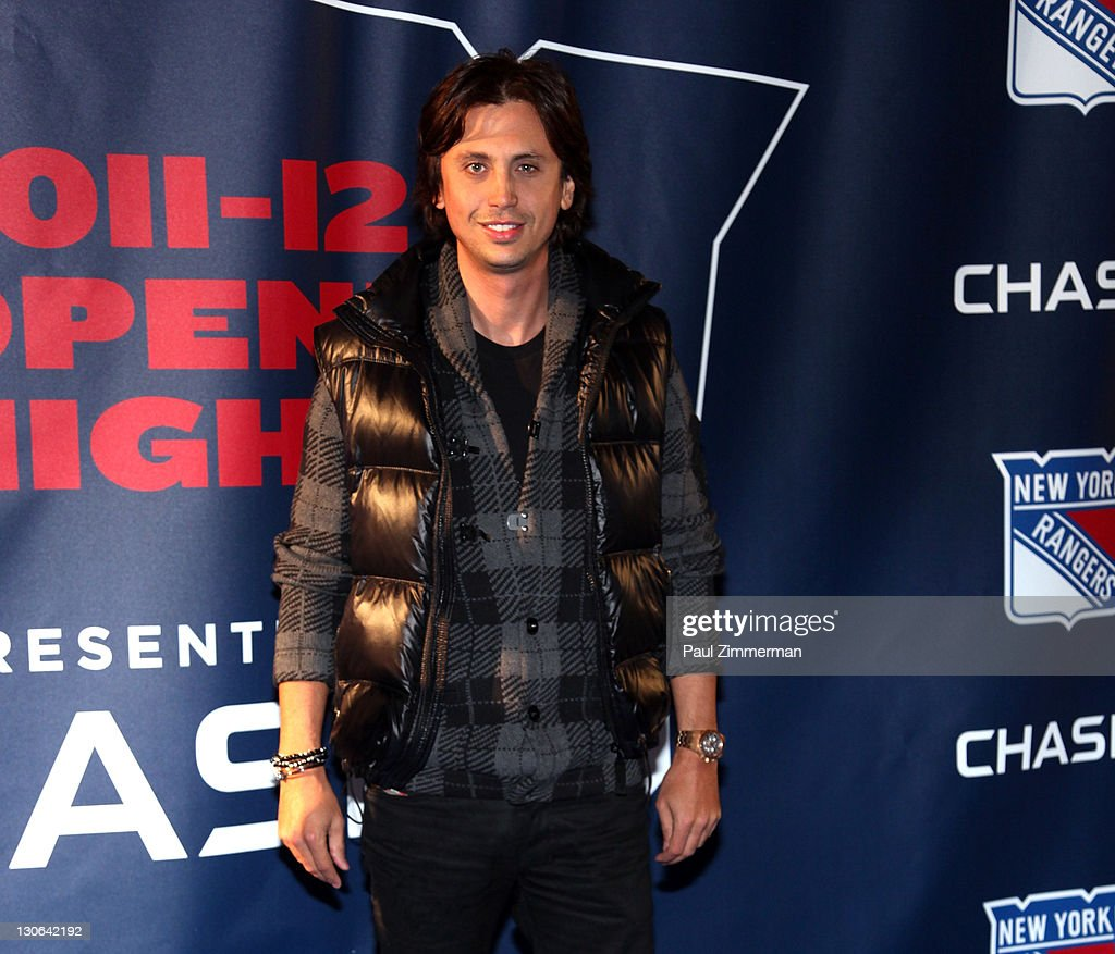 <a gi-track='captionPersonalityLinkClicked' href=/galleries/search?phrase=Jonathan+Cheban&family=editorial&specificpeople=538047 ng-click='$event.stopPropagation()'>Jonathan Cheban</a> attends the New York Rangers home opener at Madison Square Garden on October 27, 2011 in New York City.
