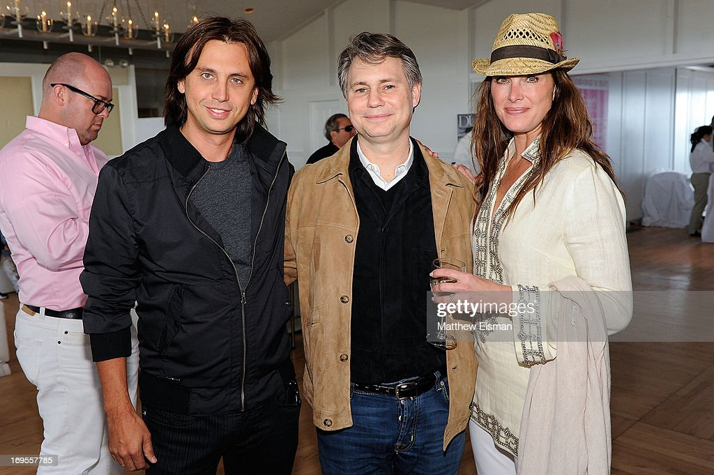 <a gi-track='captionPersonalityLinkClicked' href=/galleries/search?phrase=Jonathan+Cheban&family=editorial&specificpeople=538047 ng-click='$event.stopPropagation()'>Jonathan Cheban</a>, <a gi-track='captionPersonalityLinkClicked' href=/galleries/search?phrase=Jason+Binn&family=editorial&specificpeople=204684 ng-click='$event.stopPropagation()'>Jason Binn</a> and <a gi-track='captionPersonalityLinkClicked' href=/galleries/search?phrase=Brooke+Shields&family=editorial&specificpeople=202197 ng-click='$event.stopPropagation()'>Brooke Shields</a> attend Haley & <a gi-track='captionPersonalityLinkClicked' href=/galleries/search?phrase=Jason+Binn&family=editorial&specificpeople=204684 ng-click='$event.stopPropagation()'>Jason Binn</a>'s Annual DuJour Summer Kick Off Soiree with The Borgata Hotel & Casino at Bridgehampton Tennis and Surf Club on May 26, 2013 in Bridgehampton, New York.